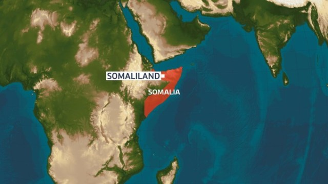 The self-declared nation of Somaliland is unrecognised internationally.