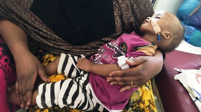 The existing medical treatment is in dire need of support from beyond the region.