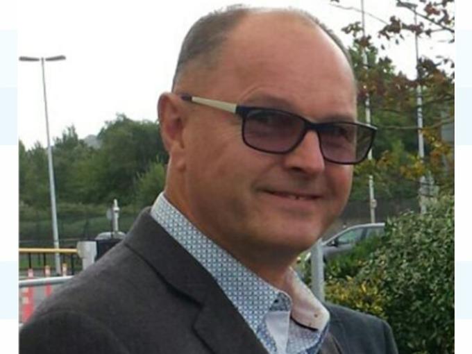 A família de Philip Ryan o descreveu como um marido gentil, gentil e amoroso. Crédito: Devon e Cornwall Police