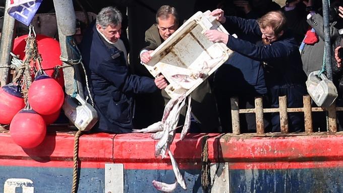 Image result for nigel farage haddock