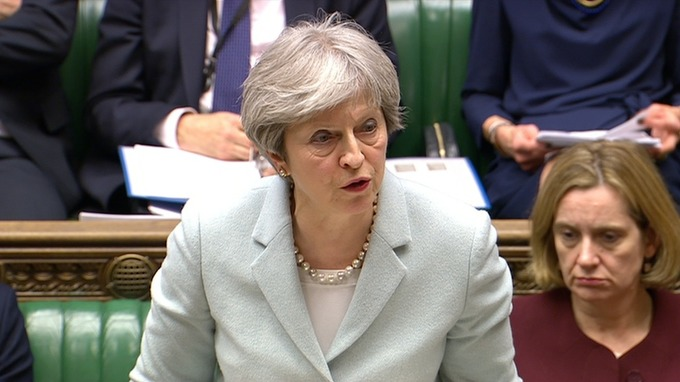 Theresa May warned the Russia problem would be long-term.