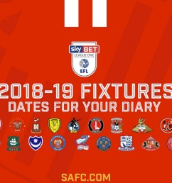 full fixture list for sunderland s first season in league one since the 80s tyne tees itv news [ 1408 x 791 Pixel ]