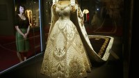 Queen's coronation dress and jewels go on display - ITV News