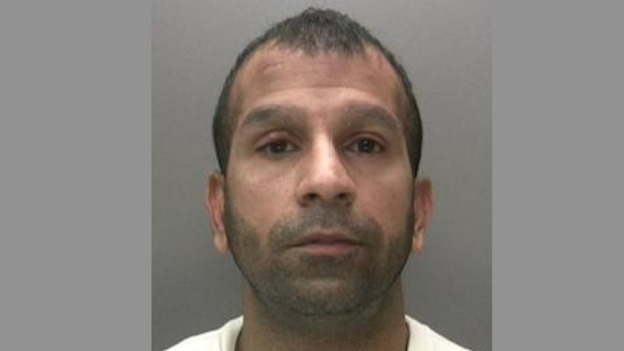 Bogus taxi driver Shakeel Ahmed, aged 31, from Sparkhill, Birmingham