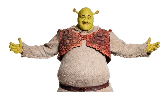 shrek to flick the