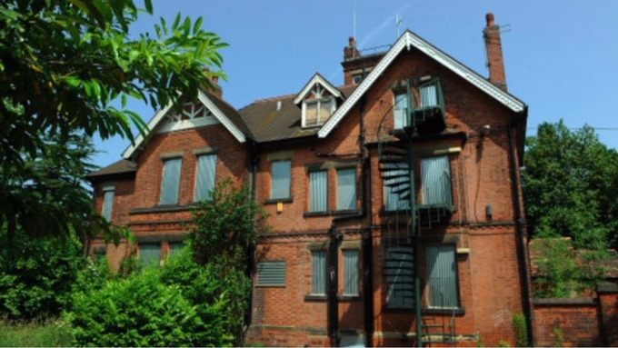 The former Beechwood Care home in Mapperley where abuse is alleged to have taken place.