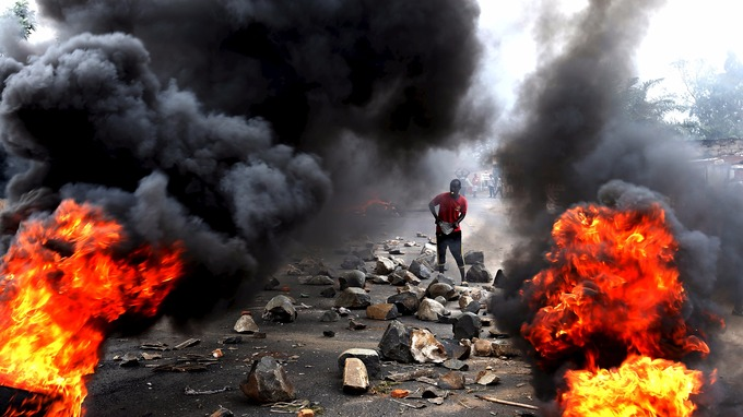 Burundi President Pierre Nkurunziza's bid for a third term has prompted huge unrest.