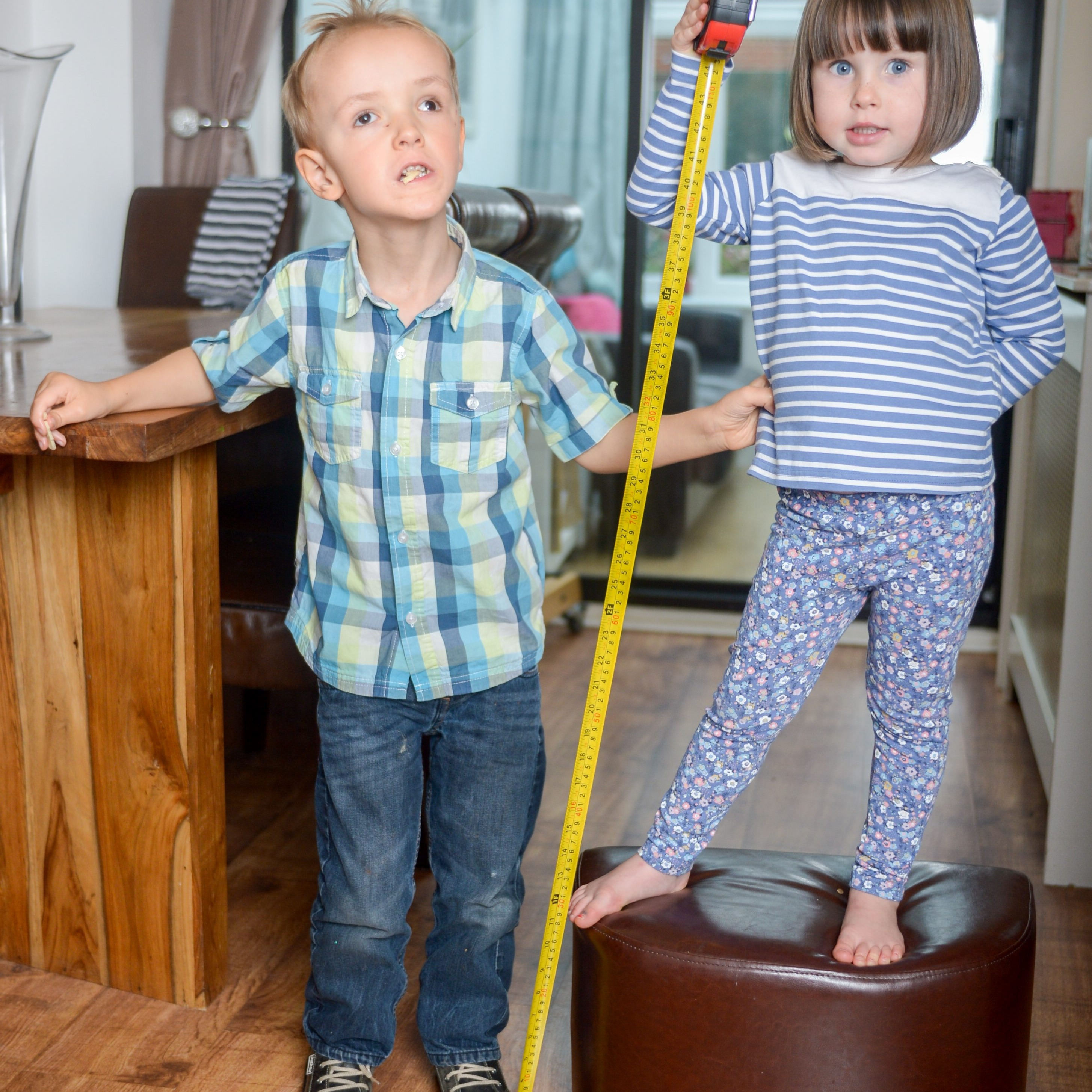 Britain's tallest toddler twice the size of other ...