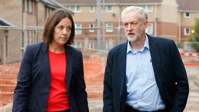Image result for picture Jeremy Corbyn Kezia Dugdale