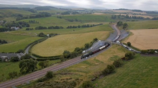 Workers Forced Clear Human Waste Borders Railway
