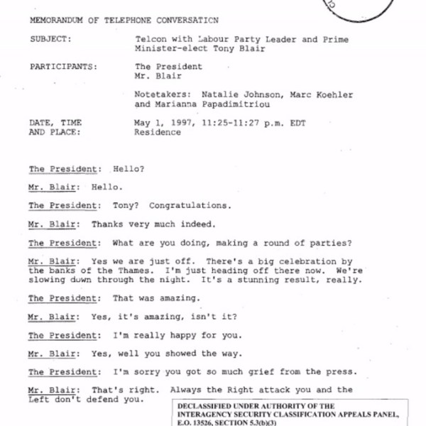 Phone transcript