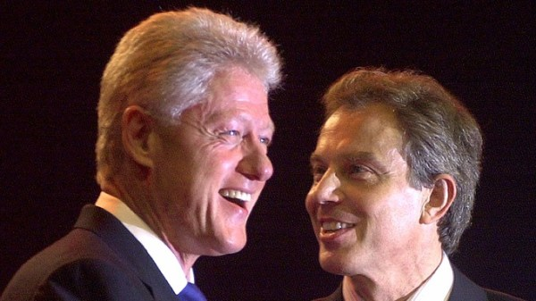 Bill Clinton and Tony Blair's close friendship has been revealed in phone transcripts.