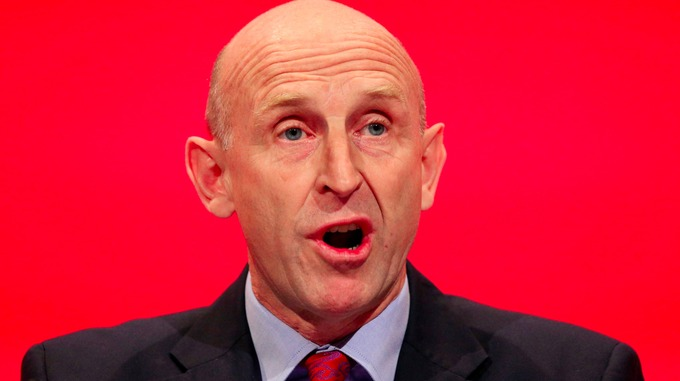 John Healey warned the collapse of Rotherham's steel industry would leave a 'black hole' in the council's finances
