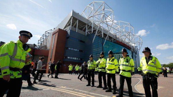 Trafford 'fake Bomb' Scare Day