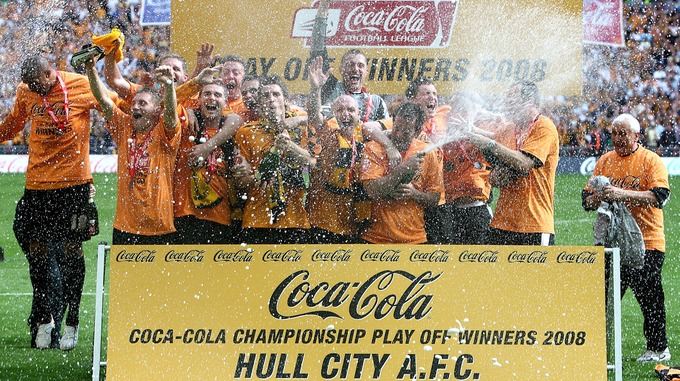 Image result for hull city wembley 2008