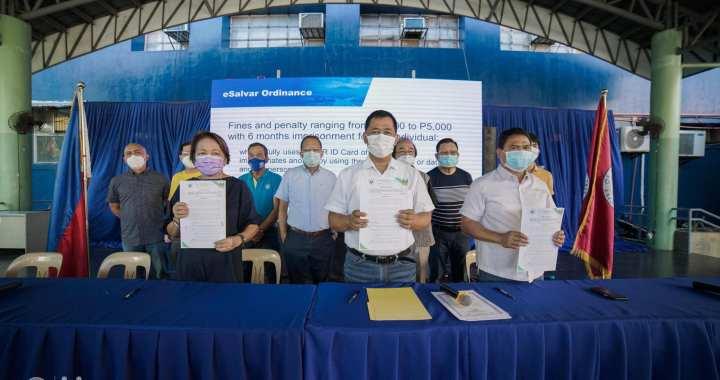 Naga City makes eSalvar contact tracing system an ordinance