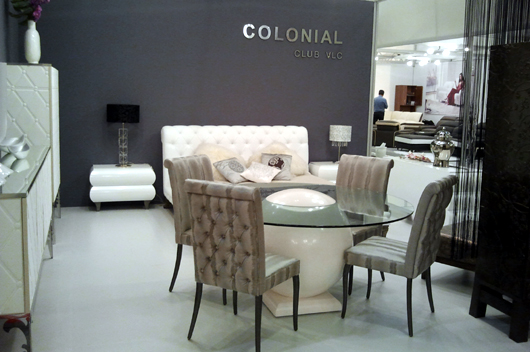 The Furniture Of Colonial Club Dazzles In Moscow At I