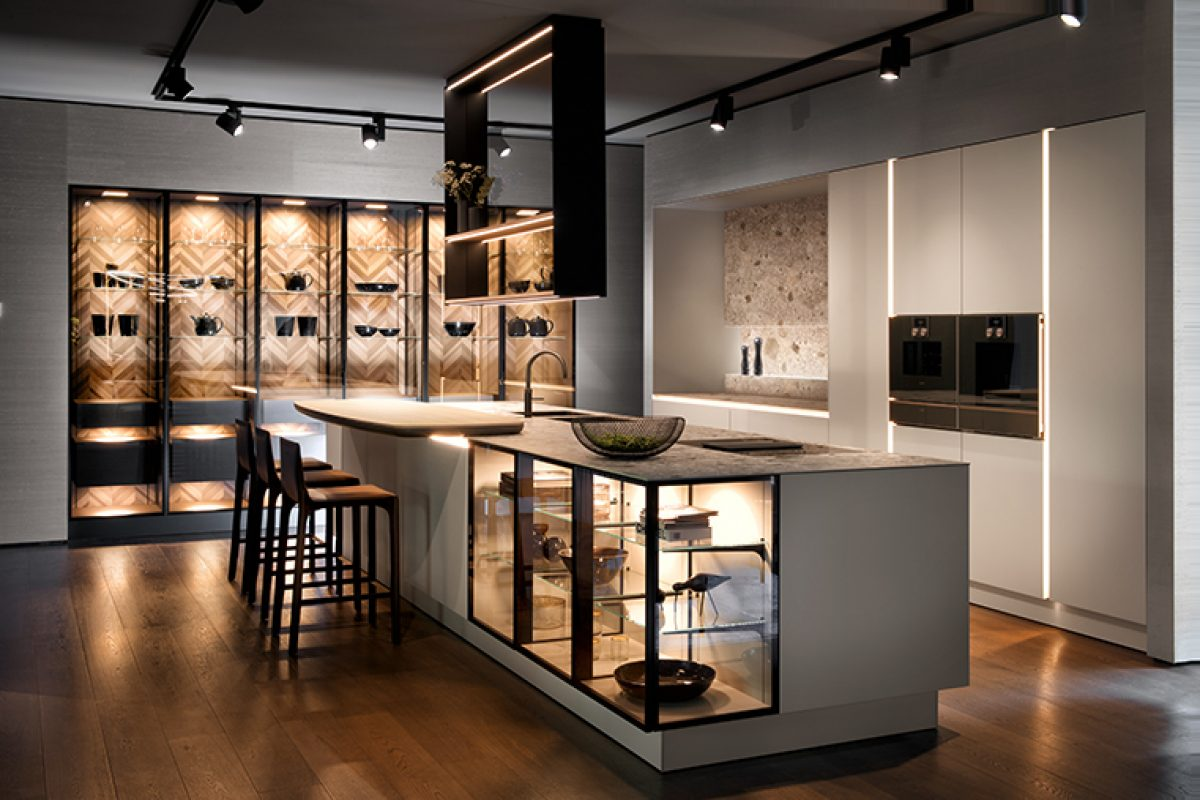 Siematic Handle Free Kitchen New Intelligent Concept For Purist Kitchen Design News Infurma Online Magazine Of The International Habitat Portal Design Contract Interior Design Furniture Lighting And Decoration