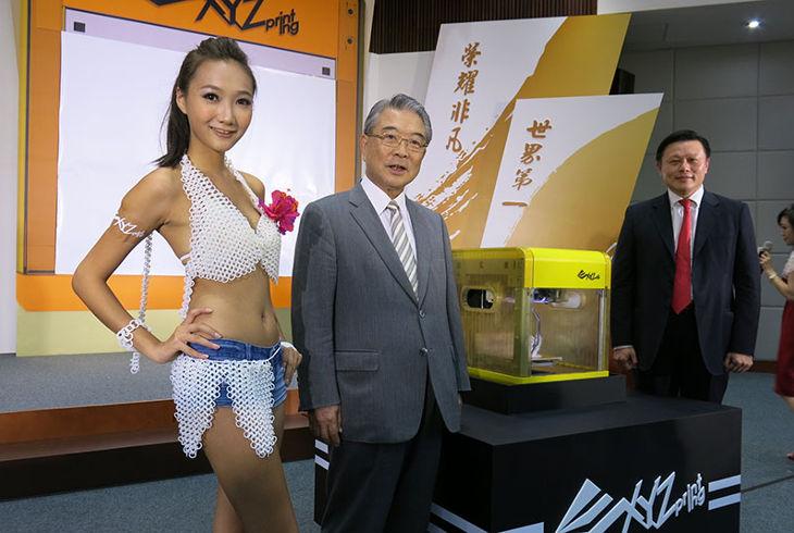 Тайваньская компания презентовала новый 3D-принтер Da Vinci