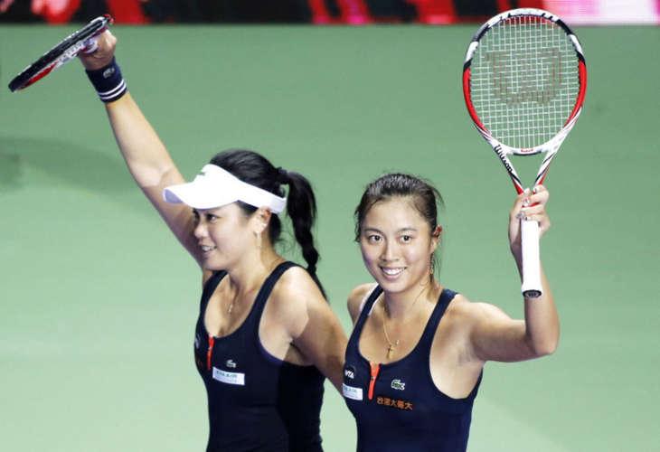 Сёстры Чань победили на турнире в Гаосюне в парном разряде