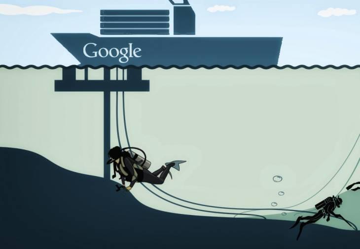 Корпорация Google подключила Тайвань к подводному кабелю FASTER