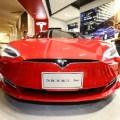 Электромобили Tesla Model S на Тайване