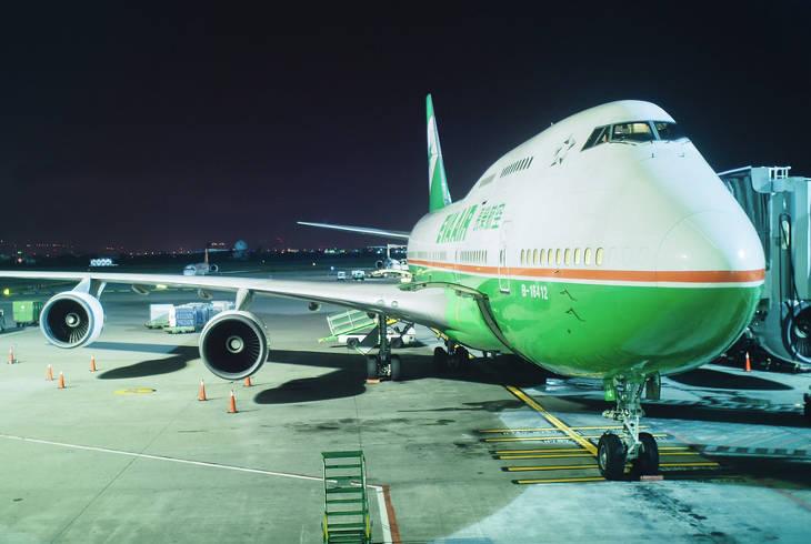 EVA Air в десятке самых безопасных авиакомпаний мира