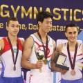 Тайваньский гимнаст завоевал золото на этапе Кубка мира в Дохе