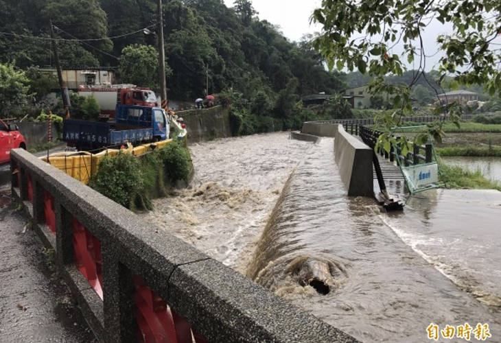 Троих человек спасли в Таоюане