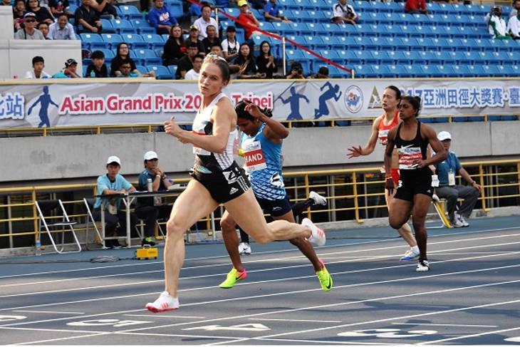 Виктория Зябкина подтвердила статус сильнейшей спортсменки Азии