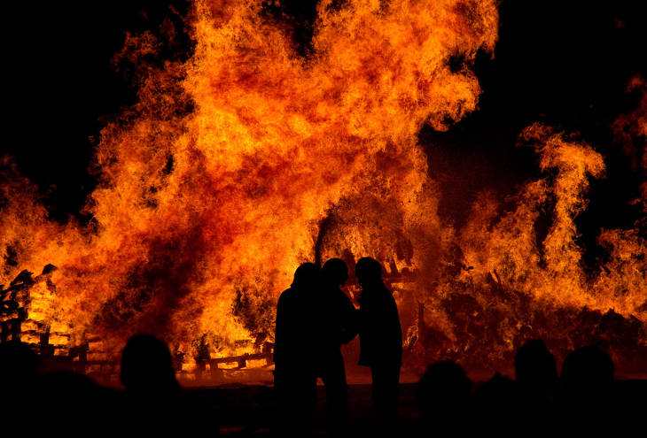 Пожар в Caesar Park Taipei