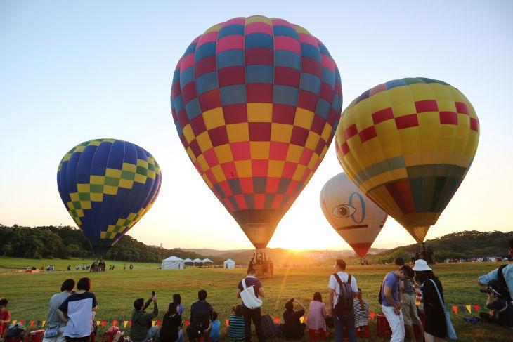Бесплатные полёты на воздушном шаре в Синьчжу