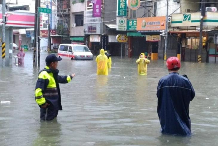 Ущерб от тайфуна Несат в цифрах