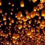 Фестиваль небесных фонариков впервые пройдет в октябре