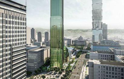 Taipei Sky Tower — конкурент небоскреба Тайбэй 101