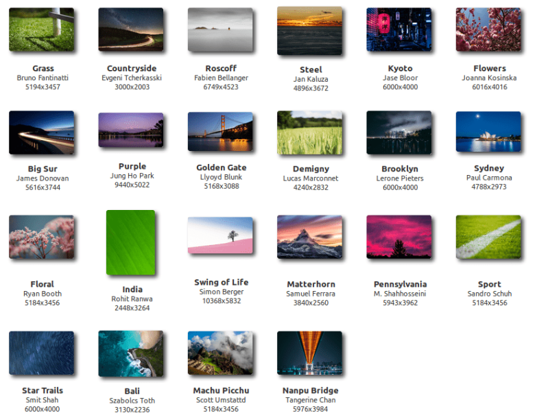 Linux Mint 20.1 wallpapers