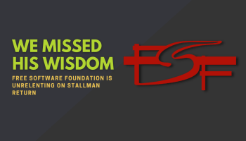FSF statement on Stallman