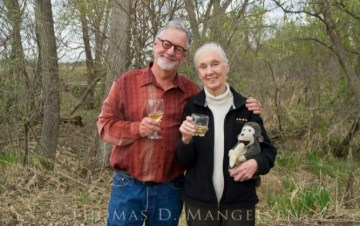 Thomas D. Mangelsen Unites with Dr Jane Goodall for his Legacy Release