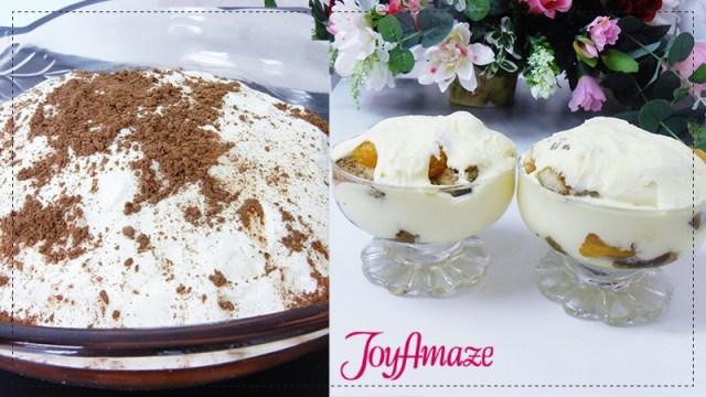 JoyAmaze Recipe Tiramisu