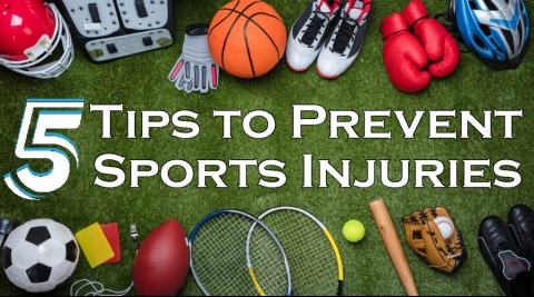 tips to prevent sports injuries