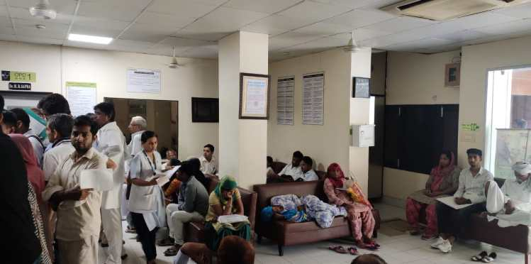 free medical camp at sapra hospital hisar