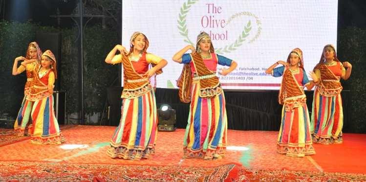 The olive School Dandiya Utsav