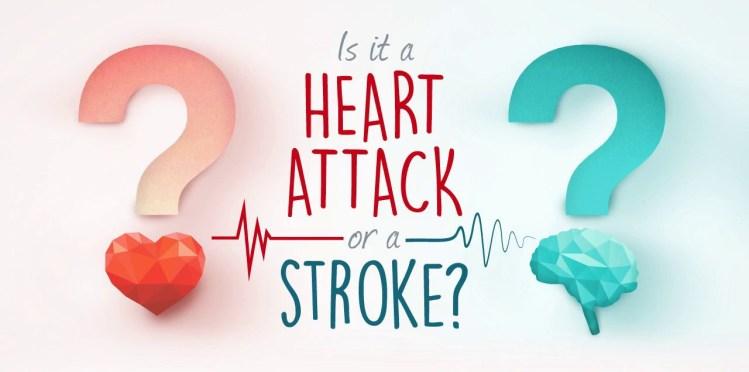 Heart attack Vs Stroke