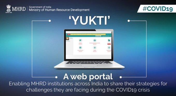 Web portal Yukti