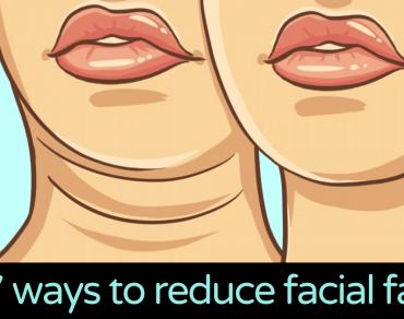 ways to reduce facial fat