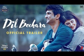 Sushant Singh Rajput's last movie Dil Bechara Trailer is out: Watch Here