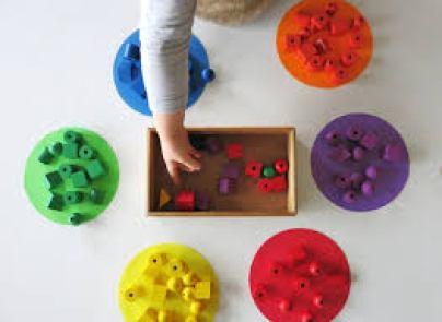 Sort Colors | Indoor games for kids