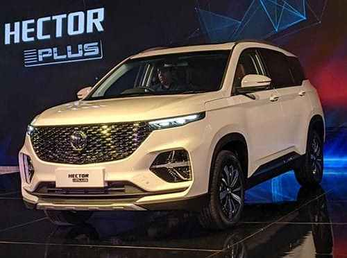 NEW MG HECTOR PLUS 6-SEATER SUV LAUNCHED IN INDIA: KNOW THE FEATURES