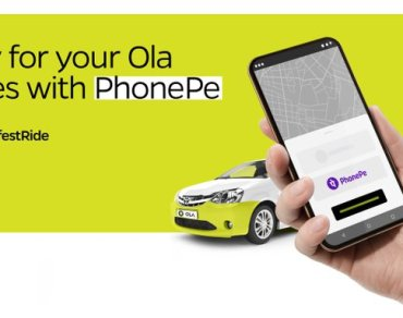 ola with phonePe
