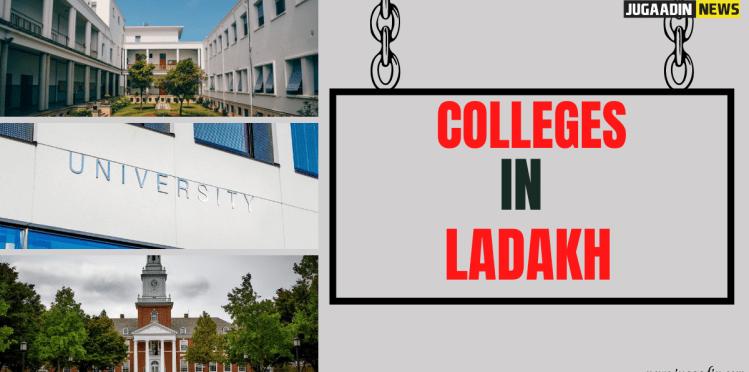 colleges in ladakh